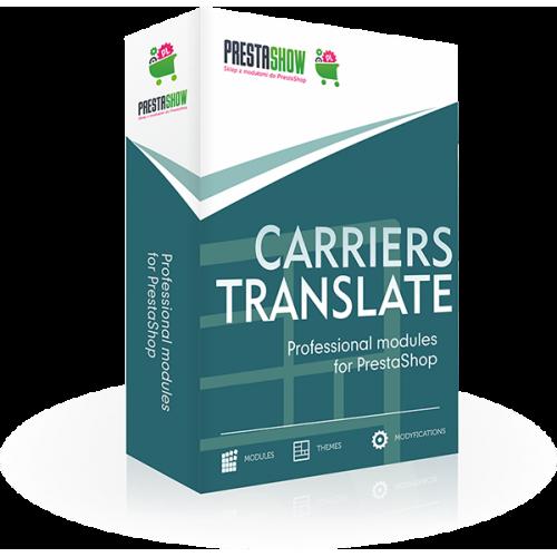 PShow tłumaczenia przewoźników