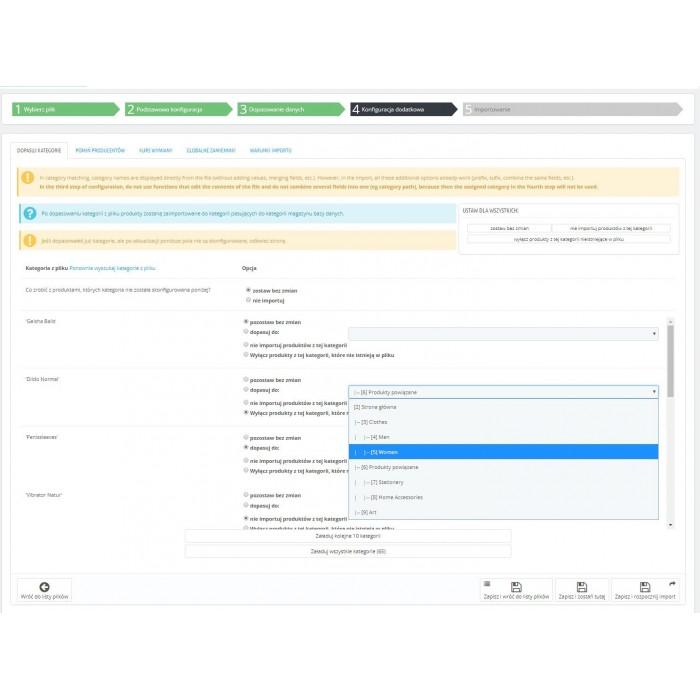 XML & CSV PrestaShop Import Manager