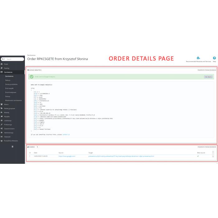PrestaShop Google Analytics + conversion + Ads + Google Optimize + Google Tag Manager