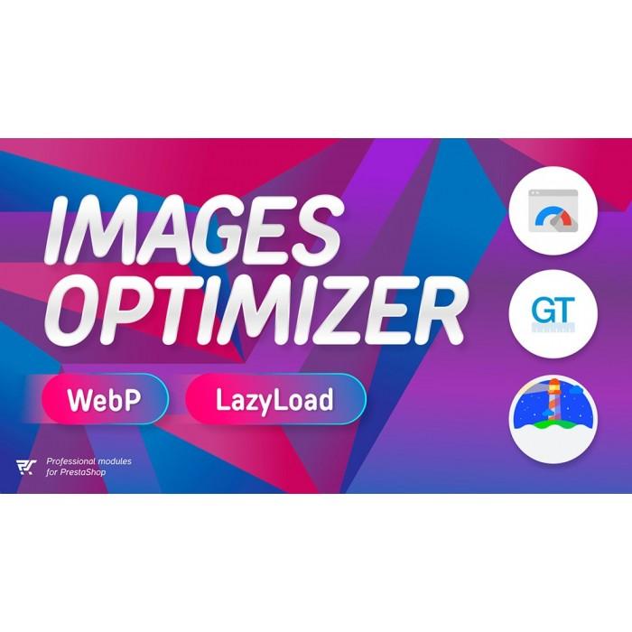 PrestaShop Images Optimizer - WebP & Lazy Load