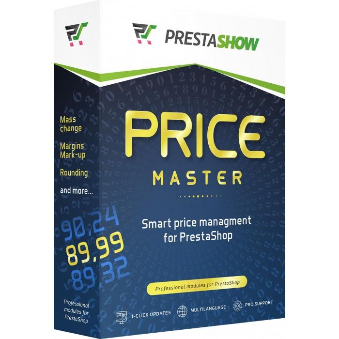PrestaShop Price Master - mass prices edit, margins and roudoings