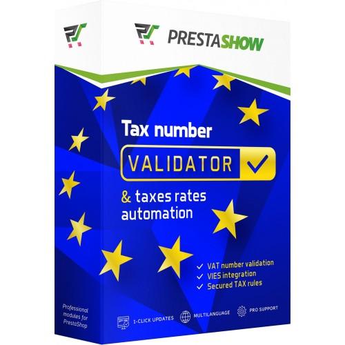 PrestaShop tax number validator - VIES / Vatapp