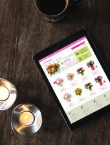 Flower store online visualisation